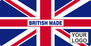 British Made Branded Sticker