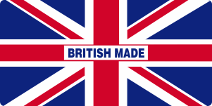 British Made Sticker