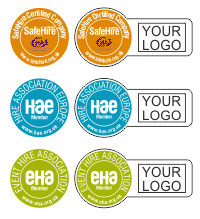 HAE Accreditation Stickers