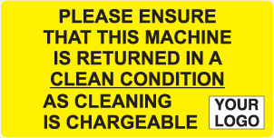 Cleaning is Chargeable