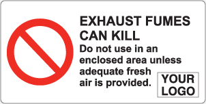 Exhaust Fumes can Kill