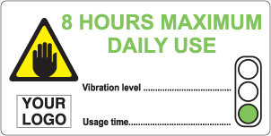8 hours maximum daily use