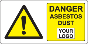 Danger Asbestos Dust
