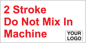 2 Stroke do not mix in machine