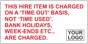 Charged on time out basis