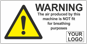 Air produced not fit for breathing