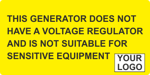 Generator does not have a voltage regulator