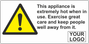 Appliance extremely hot when in use