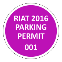 Parking Permit Car Stickers