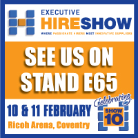 See us on stand E65 at the Executive Hire Show
