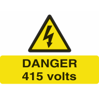 Voltage Sticker