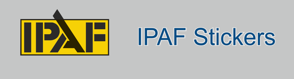 IPAF Stickers