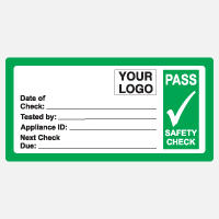 Pass Safety Check Sticker