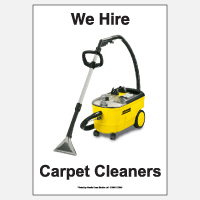 We Hire Carpet Cleaners
