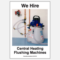 We Hire Central Heating Flushing Machines