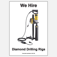 We Hire Diamond Drilling Rigs