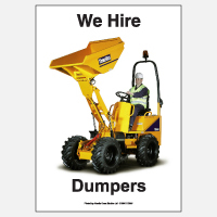We Hire Dumpers