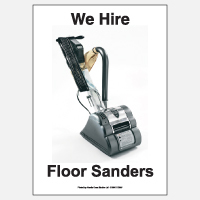 We Hire Floor Sanders