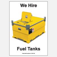We Hire Fuel Tanks