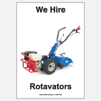 We Hire Rotavators