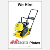 We Hire Wacker Plates