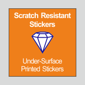 Scratch Resistant Stickers